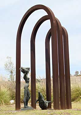 Mogán, Arguneguín. La diosa del mar, 2003 / Bronce