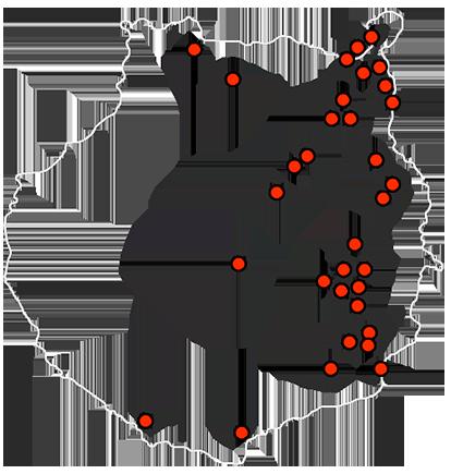 Mapa esculturas